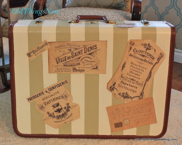 1-Vintage Suitcase After and Bdrm Bench Before 001