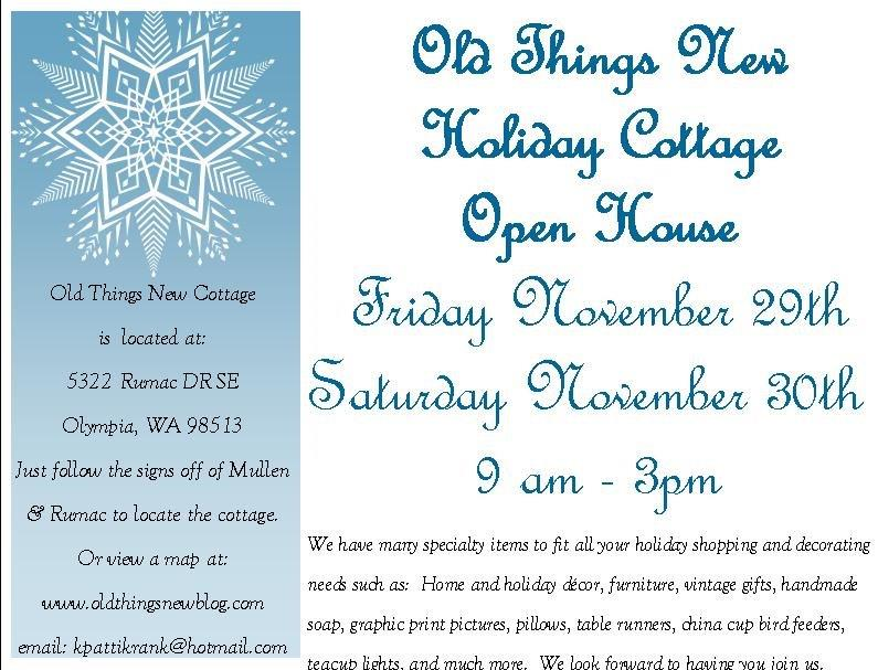 OTN Holiday Cottage Open House