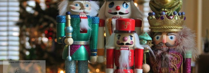 Creating a GLITTERY Nutcracker From a Thrift Store Find!