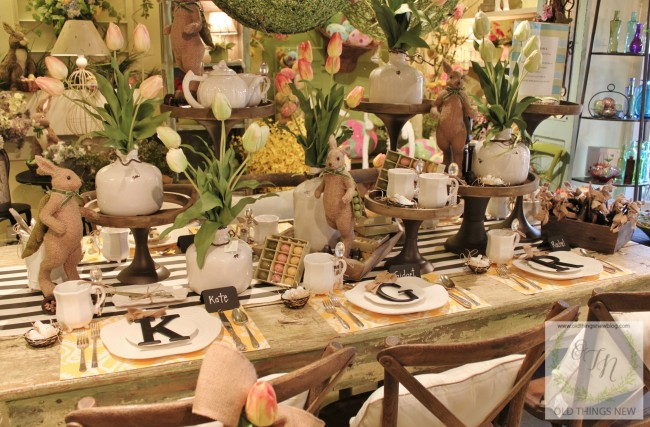 Twigs Easter Table 034