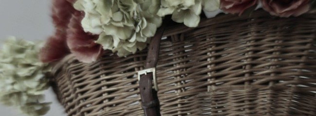 Giving Baskets a Vintage Look With Chalk Paint