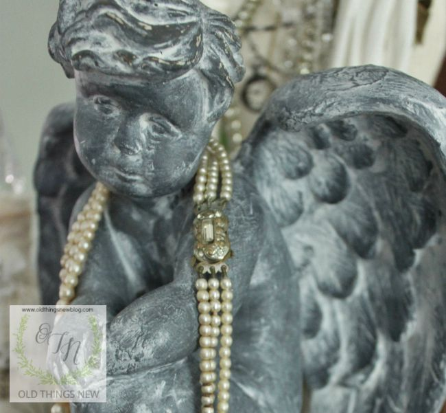 Angel - Ageing with gesso 007a