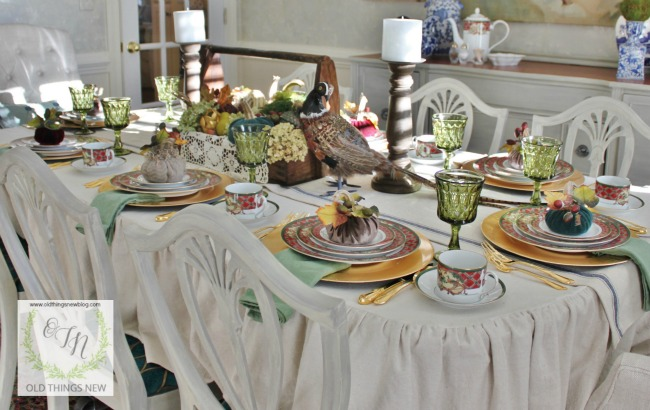 Thanksgiving Table 001