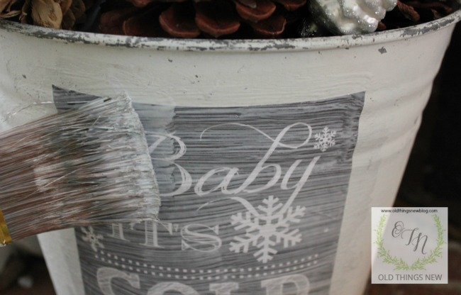 Baby it's Cold Bucket 001