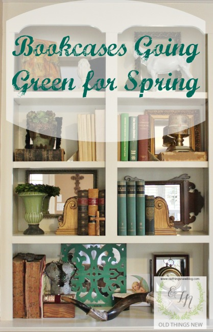 Bookcases Going Green Overlay