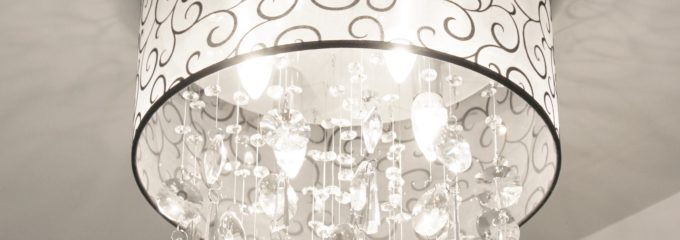 Overcome by Shiny Objects & a New Crystal Light Fixture