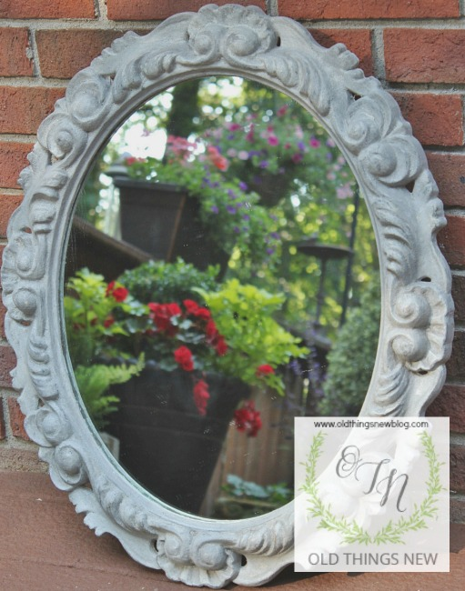 The Ugliest Mirror Makeover 007