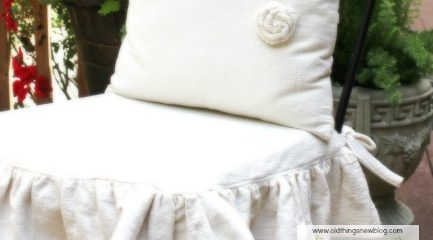 French Pillows & Ruffled Slipcovers – Part 2